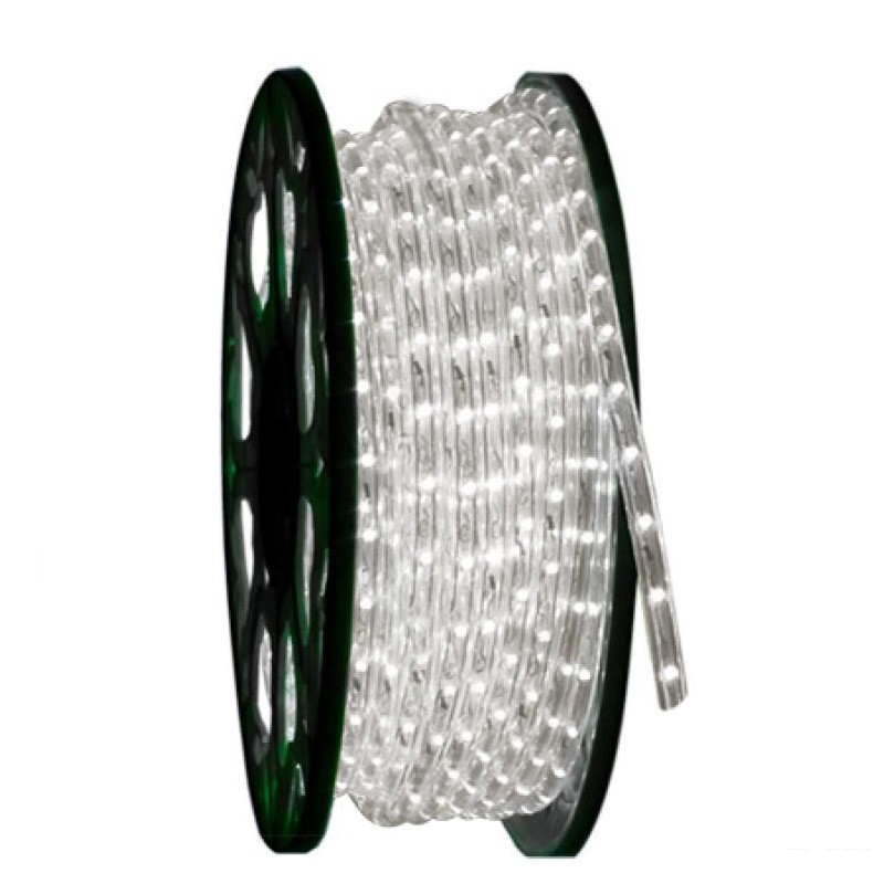 Tubo luminoso led rotolo da 50 metri lineari sezionabile for Luci led per esterno
