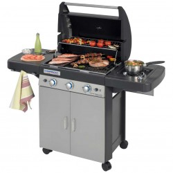 BBQ Barbecue a gas con fornello laterale Campingaz 3 Series Classic LS Plus