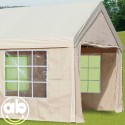 Set Teli laterali per gazebo 4x10 Mt con finestroni trasparenti - Big Royal