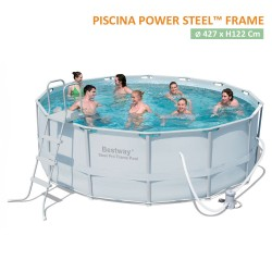 Piscina Tonda fuori terra - Power steel frame Pool rotonda