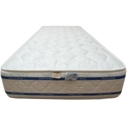 Materasso in Memory Foam alto 20/21 Cm rivestito in cotone anti-acaro ed anallergico