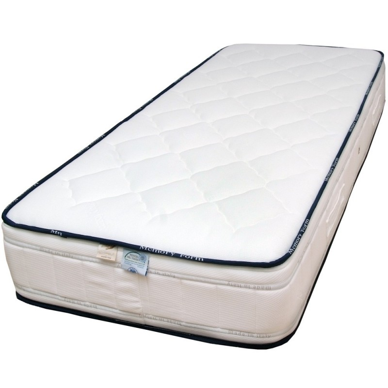 MATERASSO IN MEMORY FOAM ALTO 25CM ORTOPEDICO ANTIACARO MADE IN ITALY